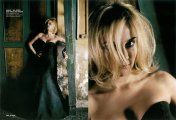 Diane Kruger :: Layout GLAMOUR, photographed by Sante D`Orazio