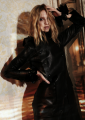 Black Leather Love :: photographed by Cathleen Wolf for GALA