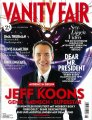 Jeff Koons :: Cover VANITY FAIR, photographed by Jean-Baptiste Mondino
