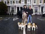 Roberto Cavalli & Daisy Lowe :: photographed by Frederike Helwig for VANITY FAIR