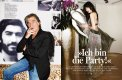 Roberto Cavalli & Daisy Lowe :: Layout VANITY FAIR, photographed by Frederike Helwig